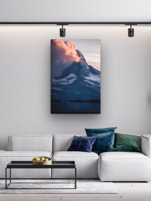 drobė kalno didybė
