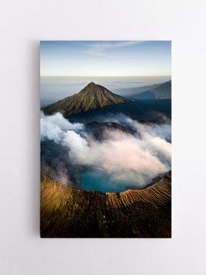drobė ugnikalnis