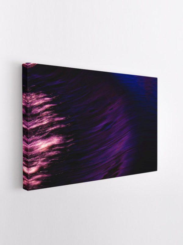 drobė abstraktas tamsiai violetinis