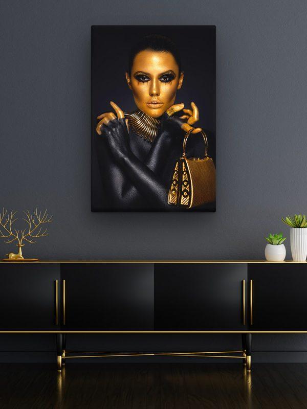 drobė auksinė rudaakė