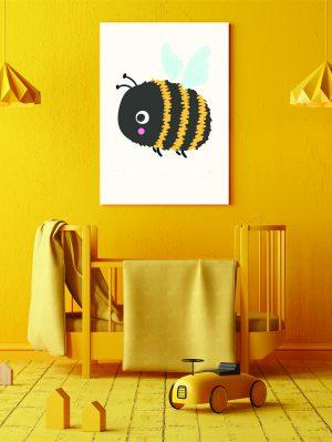 drobė Žaisminga bitė